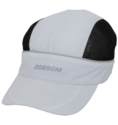 Running Cap White