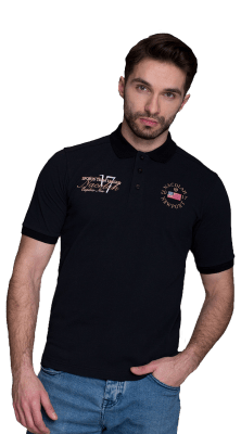 Newport Polo Black