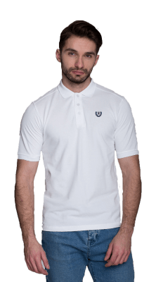 Small Laurel Polo White